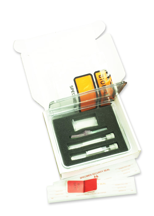 Legal Blood Alcohol Specimen Collection Kit