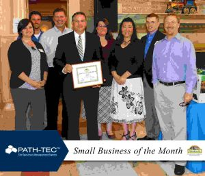 Path-Tec Small Business of the Month - Mask
